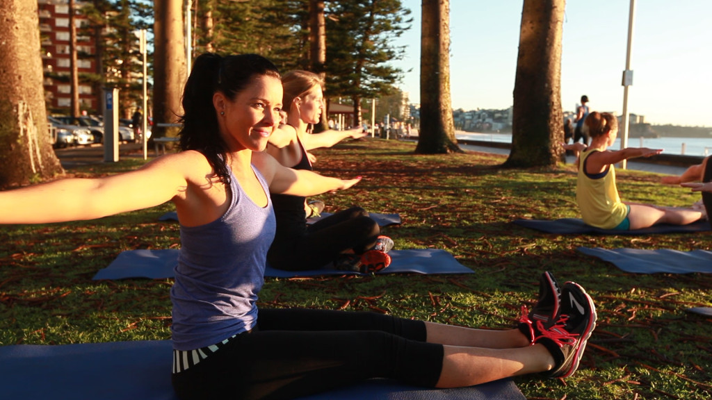 Pilates-class-corporate-manly-beach