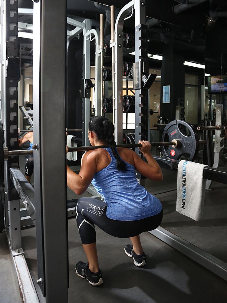 Bridget_squat_rack